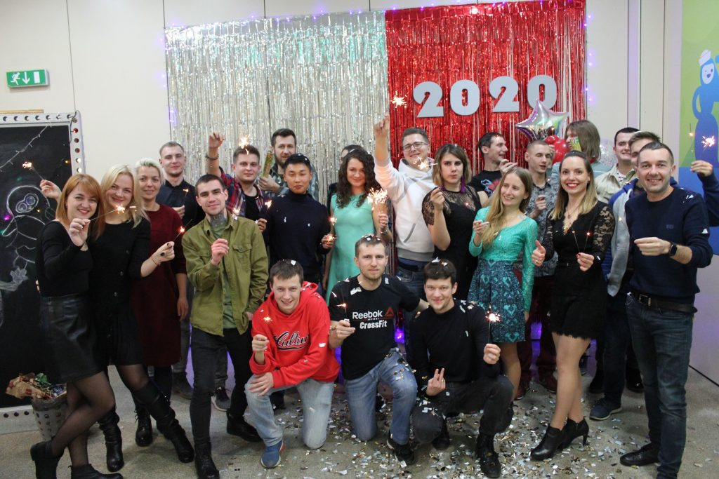New Year's party at Attract Group