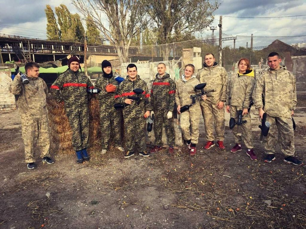 Attract Group Paintball