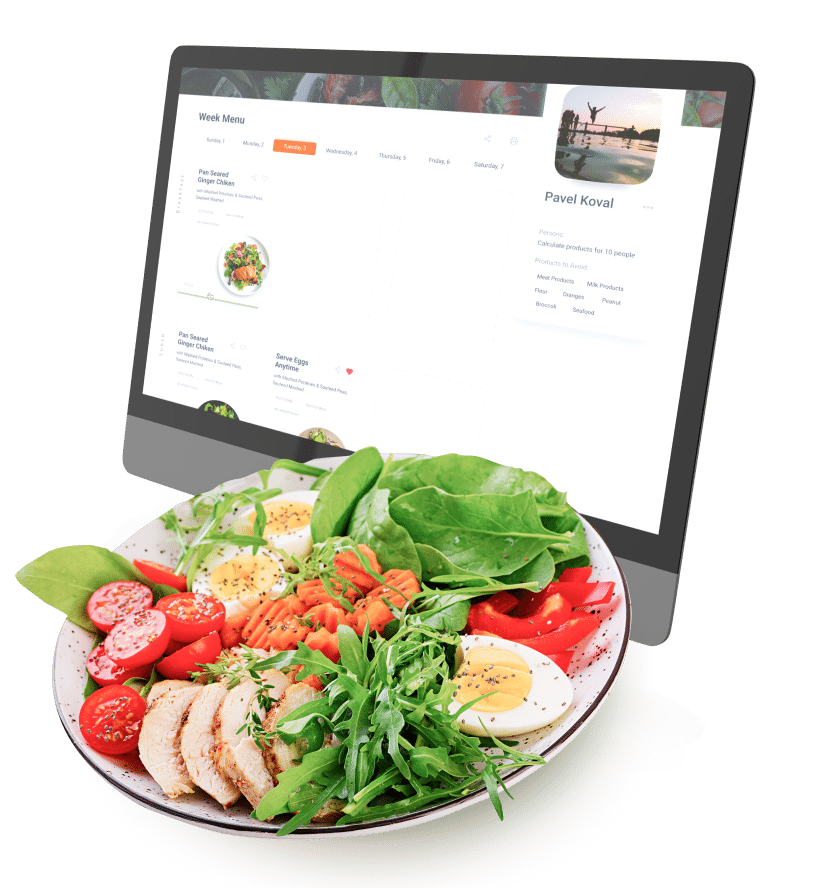 Menudoplan: A Website for Healthy Weekly Meal Generation