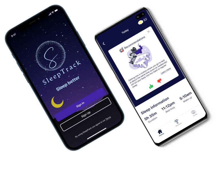 Sleeptrack: A Sleep Monitoring Flutter App
