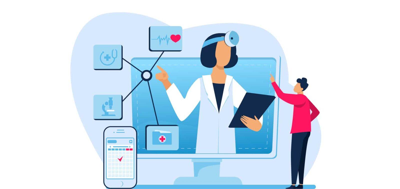 Types-of-Custom-Healthcare-Solutions illustration
